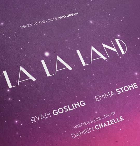 La La Land Poster by grafinesse