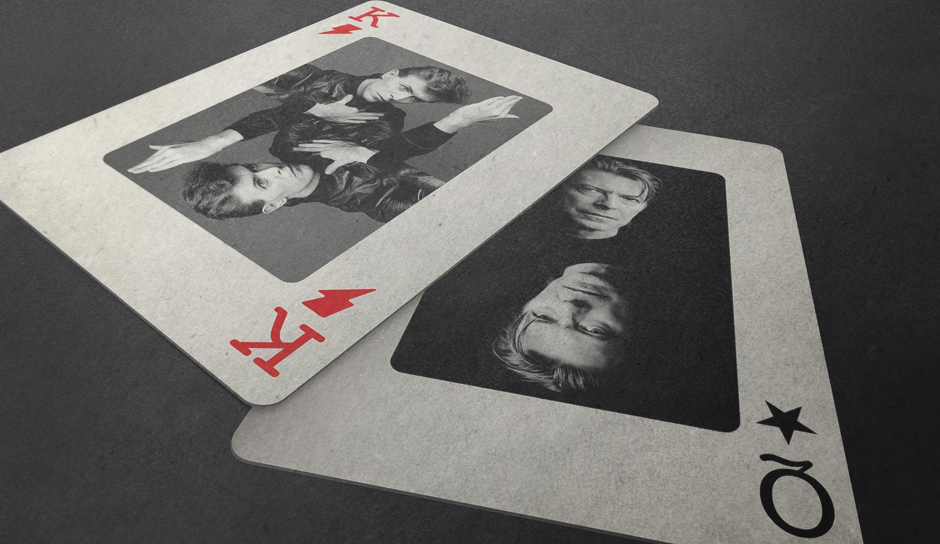 Detailansicht des Posters >Heroes< von David Bowie
