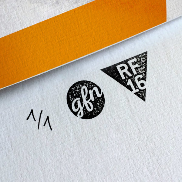Juno Kunstdruck – Handnummeriert und mit Stempel gebrandet