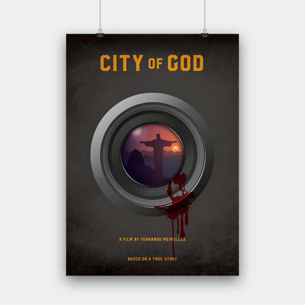 City of God Kunstdruck – 50 x 70 cm