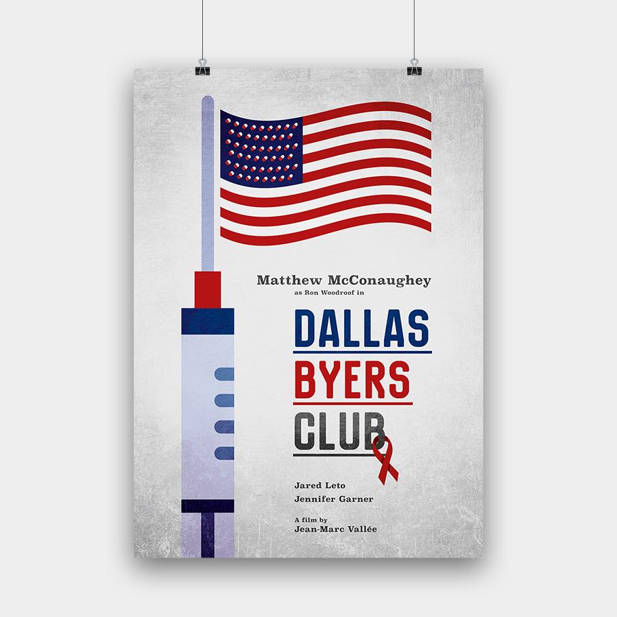 Dallas Byers Club Kunstdruck – 50 x 70 cm