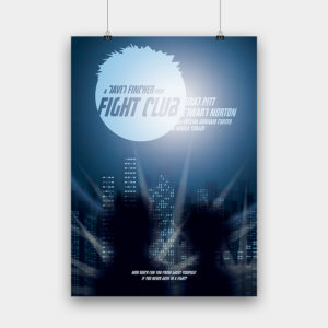 Fight Club Kunstdruck – 50 x 70 cm
