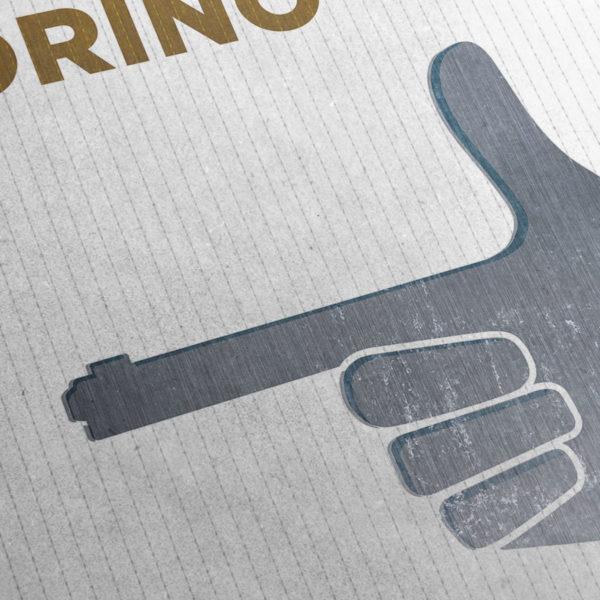 Gran Torino Kunstdruck – Detailansicht