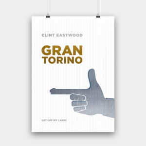 Gran Torino Kunstdruck – 50 x 70 cm