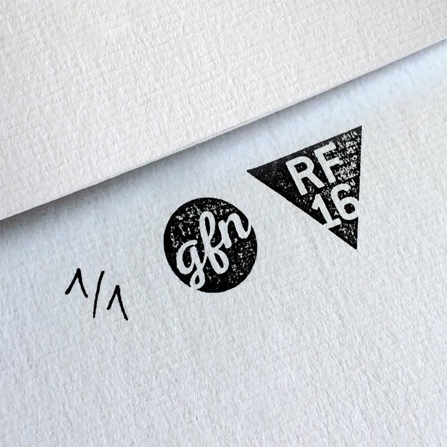 Hard Candy Kunstdruck – Handnummeriert und mit Stempel gebrandet