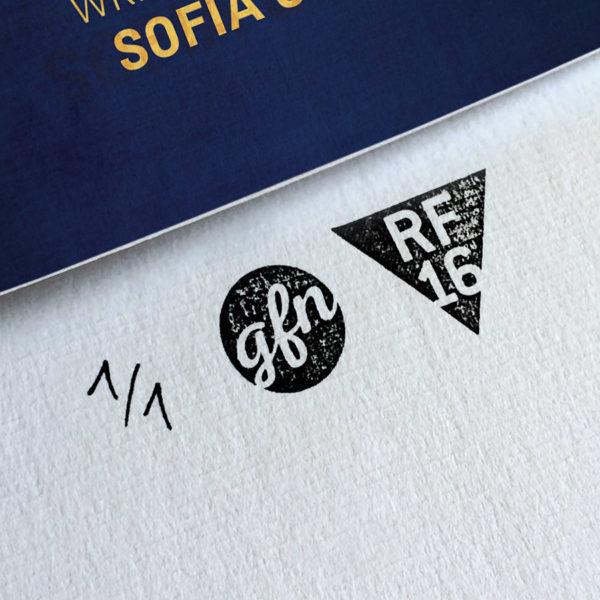 Lost in Translation Kunstdruck – Handnummeriert und mit Stempel gebrandet