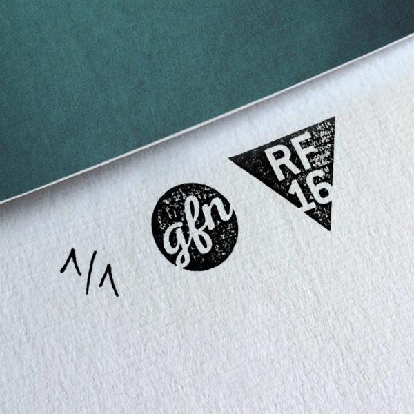 Snatch Kunstdruck – Handnummeriert und mit Stempel gebrandet