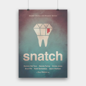 Snatch Kunstdruck – 50 x 70 cm