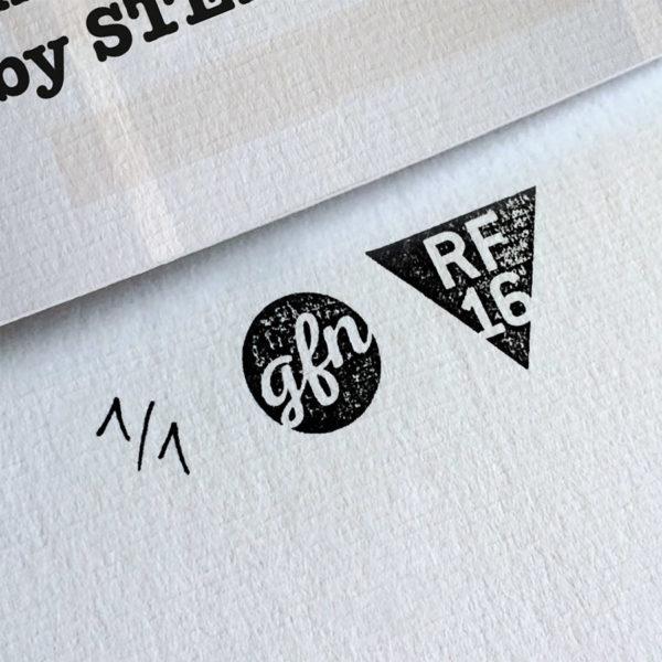 Stand by me Kunstdruck – Handnummeriert und mit Stempel gebrandet