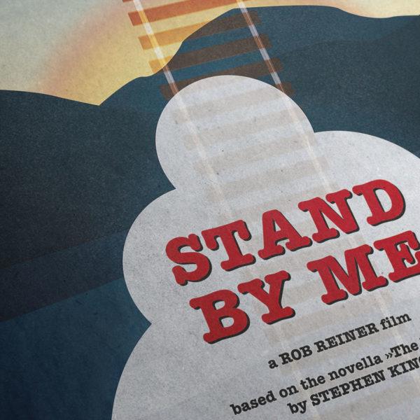 Stand by me Kunstdruck – Detailansicht