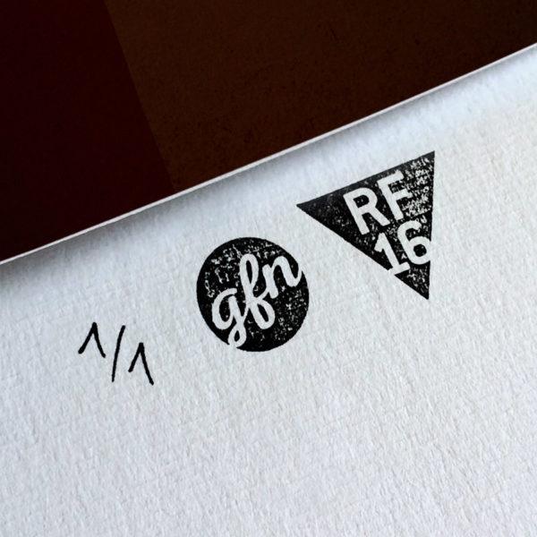 Thelma & Louise Kunstdruck – Handnummeriert und mit Stempel gebrandet