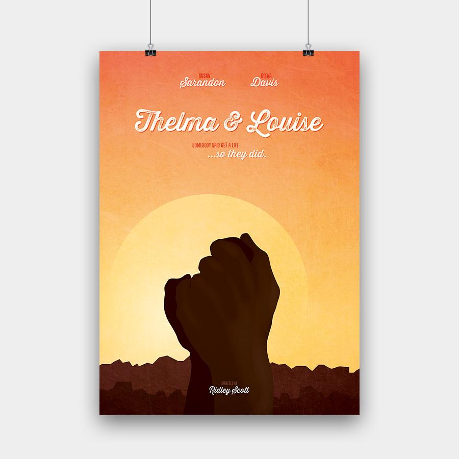Thelma & Louise Kunstdruck – 50 x 70 cm