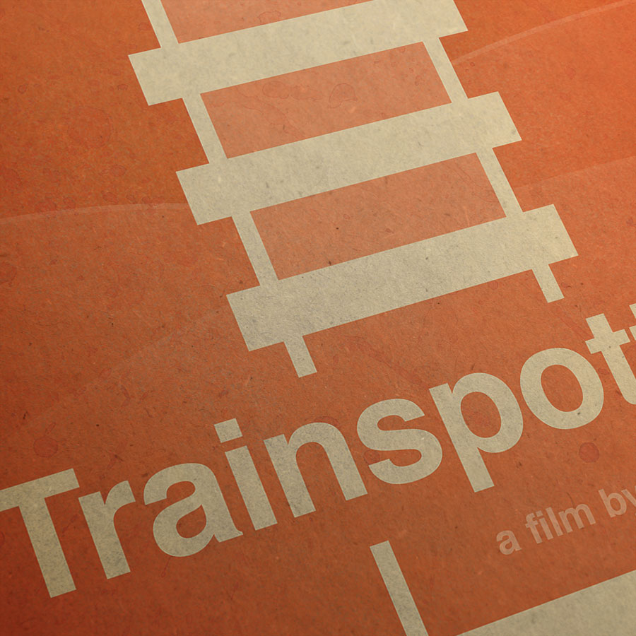 Trainspotting Kunstdruck – Detailansicht