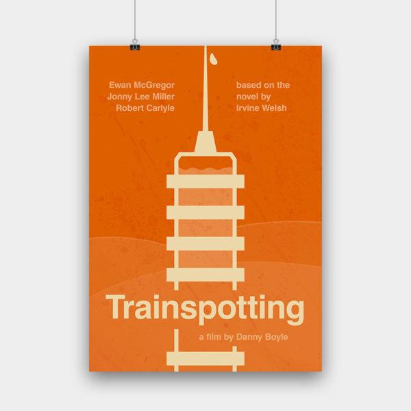 Trainspotting Kunstdruck – 50 x 70 cm
