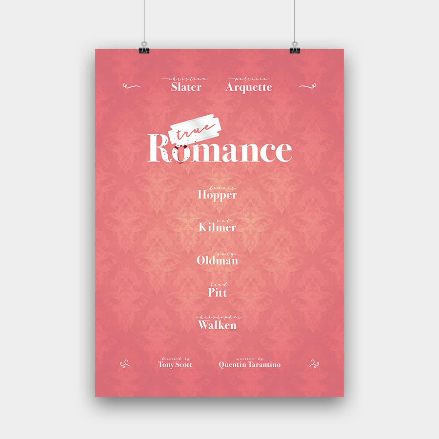 True Romance Kunstdruck – 50 x 70 cm