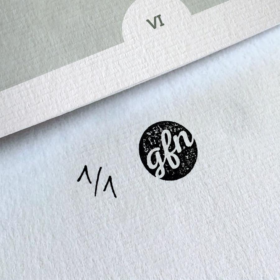 Tomte »New York« Kunstdruck – Handnummeriert und mit Stempel gebrandet