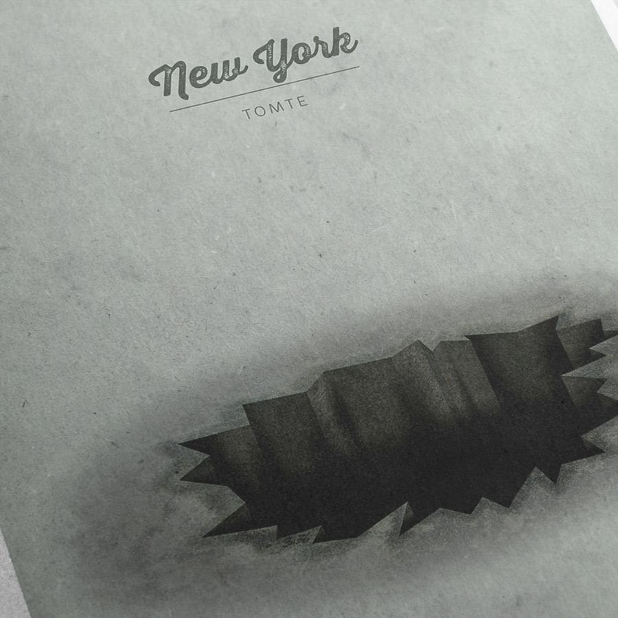 Tomte »New York« Kunstdruck – Detailansicht