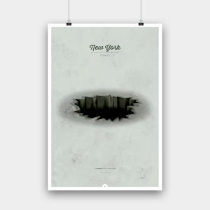 Tomte »New York« Kunstdruck – 50 x 73 cm