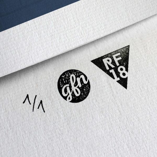 Brick Kunstdruck – Handnummeriert und mit Stempel gebrandet