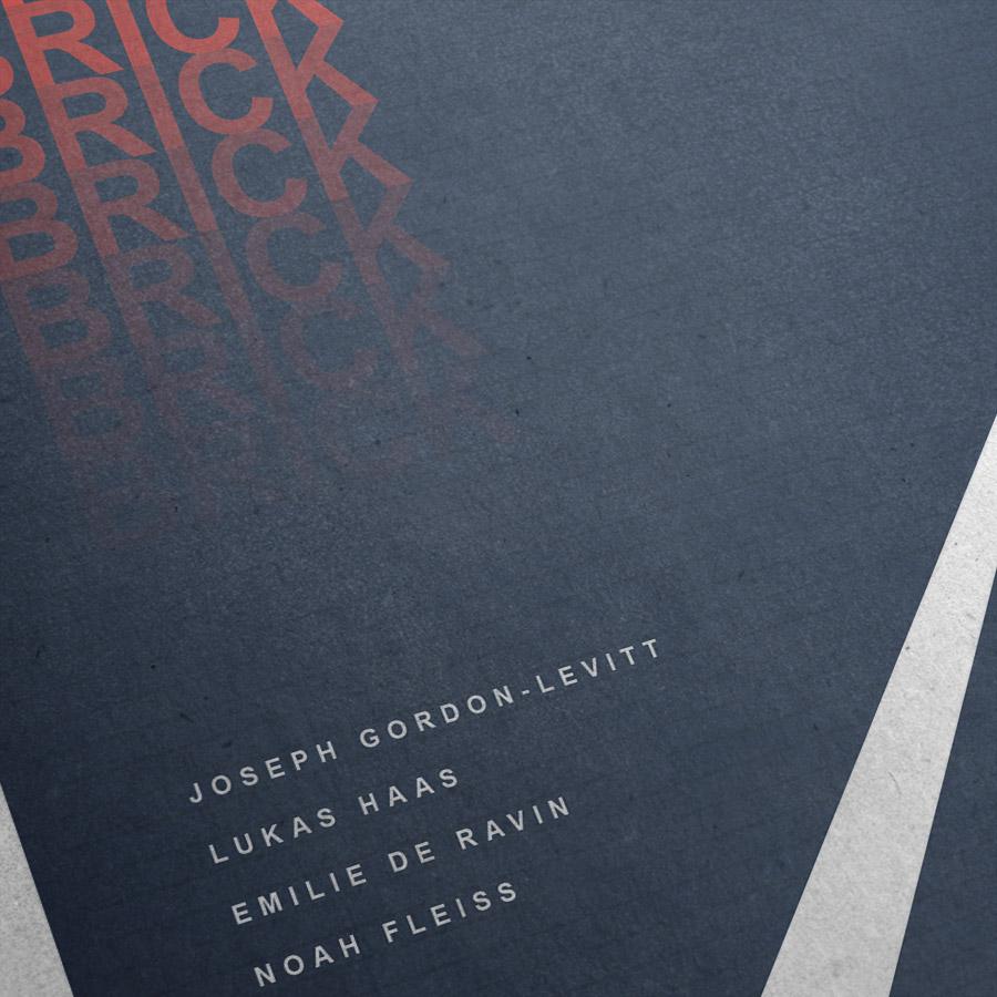 Brick Kunstdruck – Detailansicht