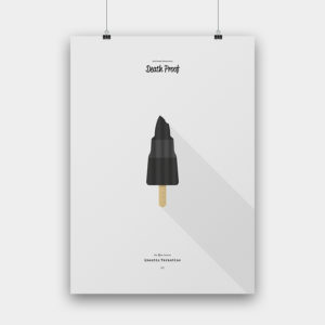 IceCream Tarantino »Death Proof« – 50 x 70 cm ohne Rahmen