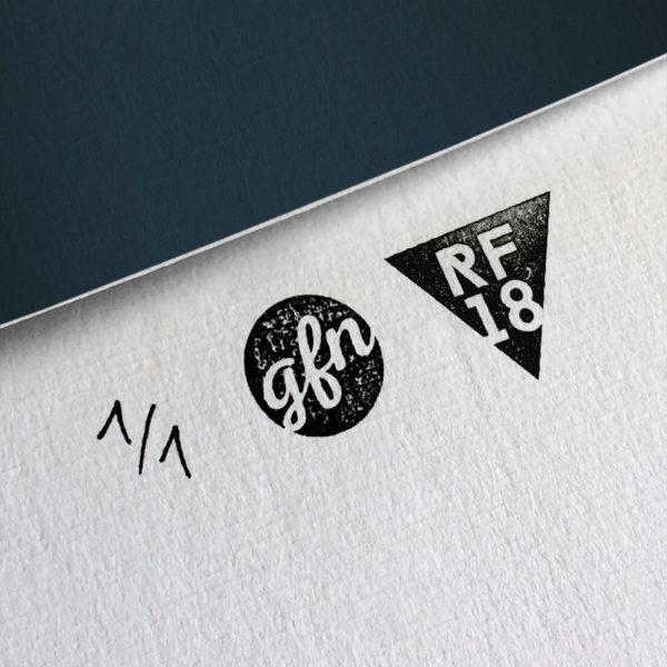 Inception Kunstdruck – Handnummeriert und mit Stempel gebrandet