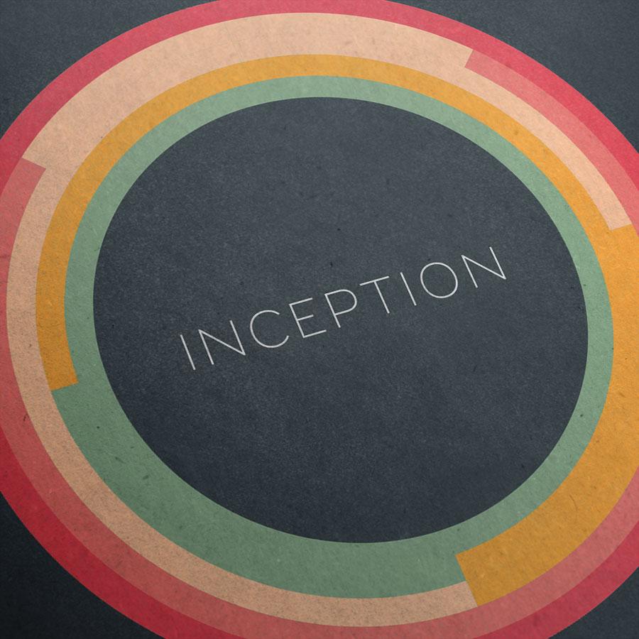 Inception Kunstdruck – Detailansicht