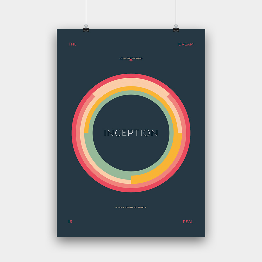 Inception Kunstdruck – 50 x 70 cm