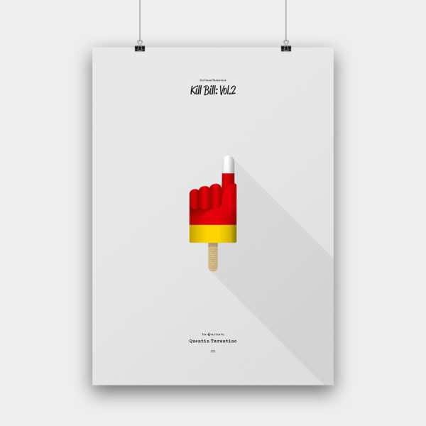 IceCream Tarantino »Kill Bill: Vol.2« – 50 x 70 cm ohne Rahmen