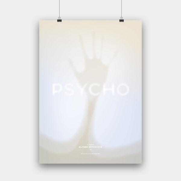 Psycho Kunstdruck – 50 x 70 cm