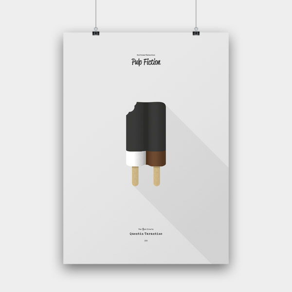 IceCream Tarantino »Pulp Fiction« – 50 x 70 cm ohne Rahmen