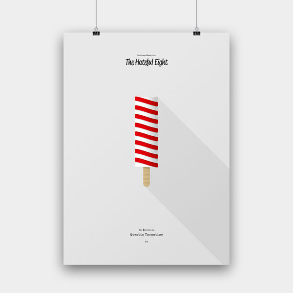 IceCream Tarantino »The Hateful Eight« – 50 x 70 cm ohne Rahmen