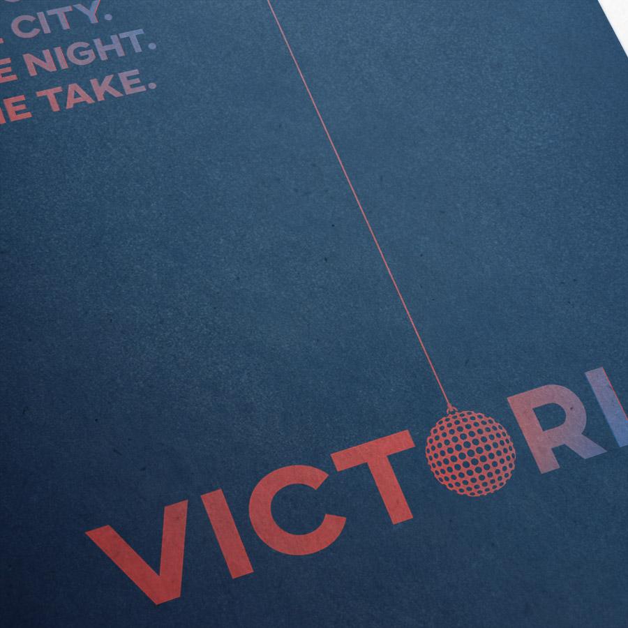 Victoria (A) Kunstdruck – Detailansicht