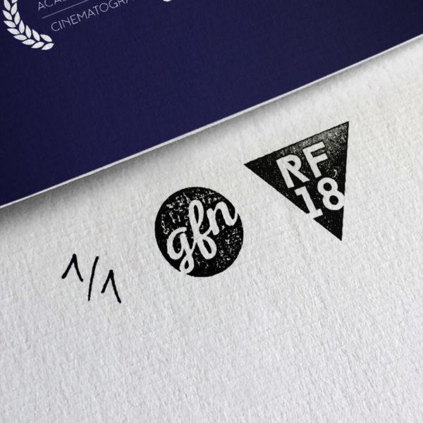 La La Land Kunstdruck – Handnummeriert und mit Stempel gebrandet