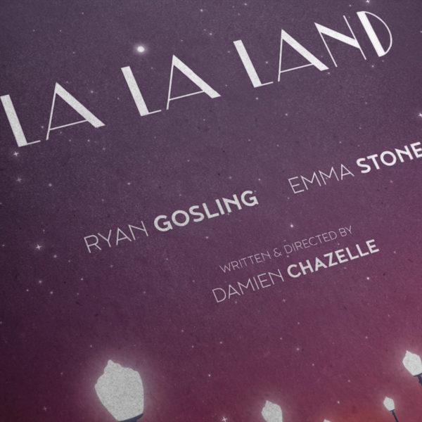 La La Land Kunstdruck – Detailansicht