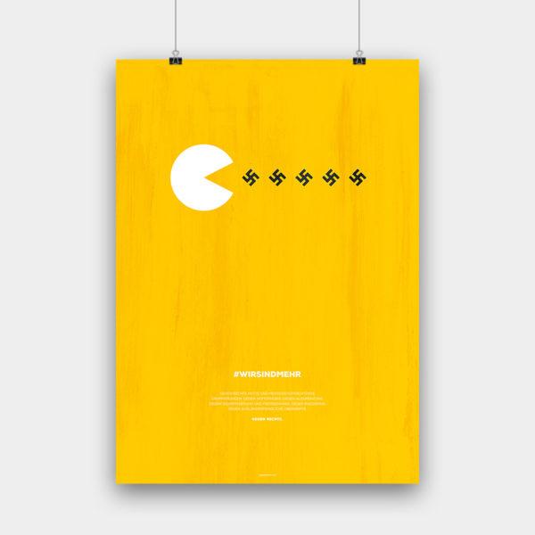 #wirsindmehr Poster – 50 x 70 cm