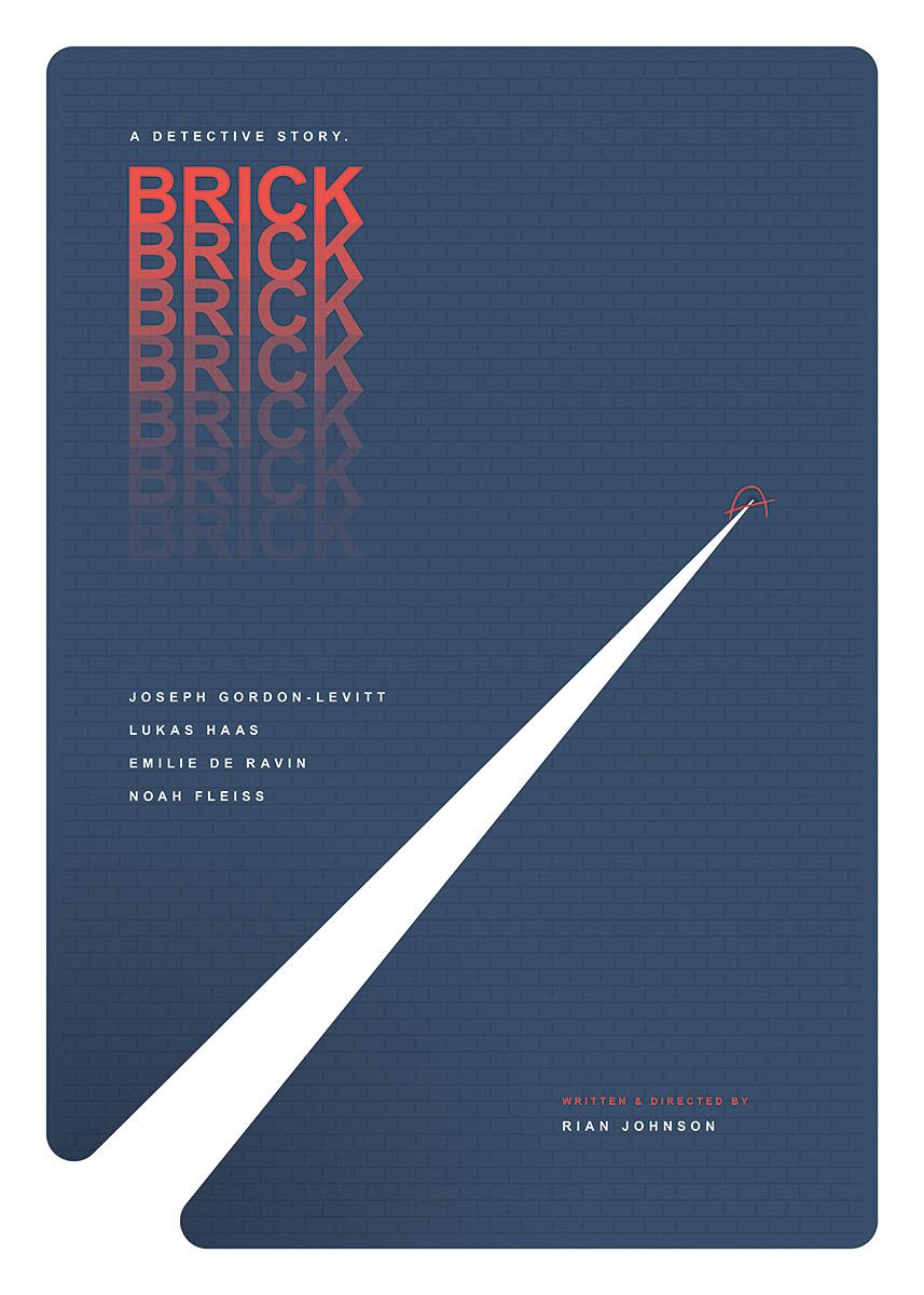 Brick – Alternative movie poster (© grafinesse)