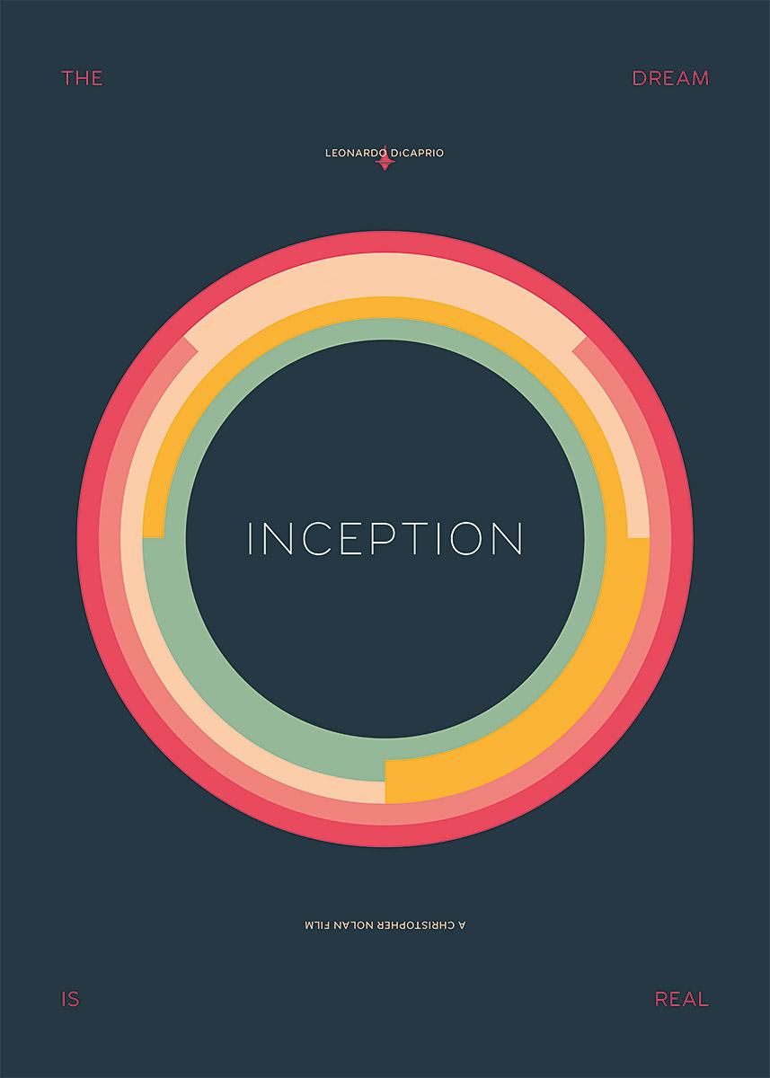 Inception – Alternative movie poster (© grafinesse)