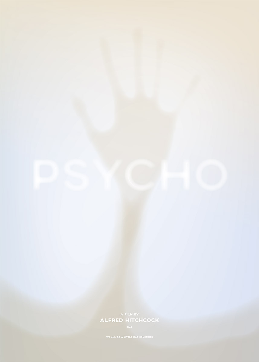Psycho – Alternative movie poster (© grafinesse)