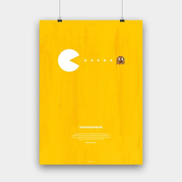#wirsindmehr V2 Poster – 50 x 70 cm